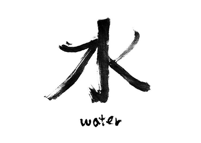 Chinese Character For Water